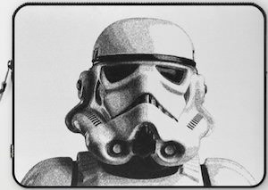 Stormtrooper Laptop Cover