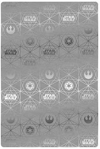 Grey Star Wars Logo Blanket