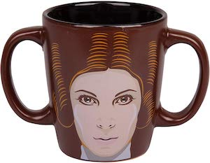 Princess Leia Double Handle Mug