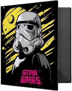 Stormtrooper And Neon Binder