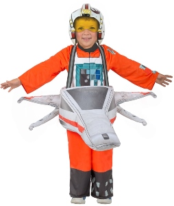 Star Wars X-Wing And Pilot Ride In Costume