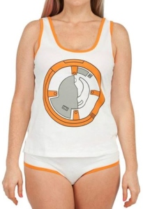 BB-8 Tank Top Panty Set