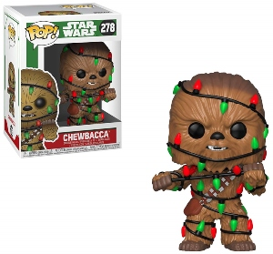 Funko Pop Chewbacca With Lights Bobblehead Figurine