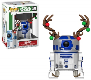 Funko Pop R2-D2 With Antlers Figurine