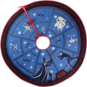 Star Wars The Force Tree Skirt