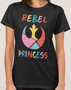 Star Wars Rebel Princess T-Shirt