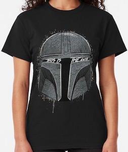 Mandalorian Mask T-Shirt