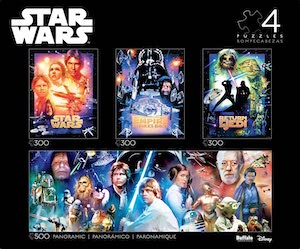 Star Wars Collectors Edition Puzzle Set