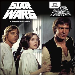 2021 Star Wars Saga Wall Calendar