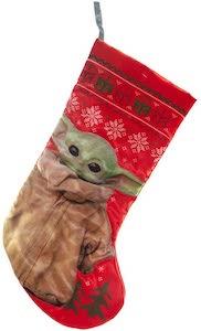 Baby Yoda Christmas Stocking