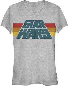 Women's Retro Star Wars Logo T-Shirt