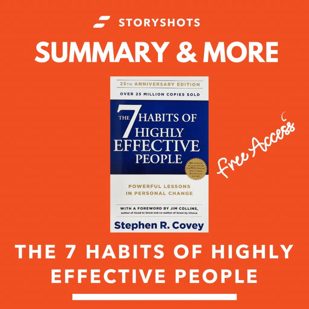 Summary Of The 7 Habits Of Highly Effective People By