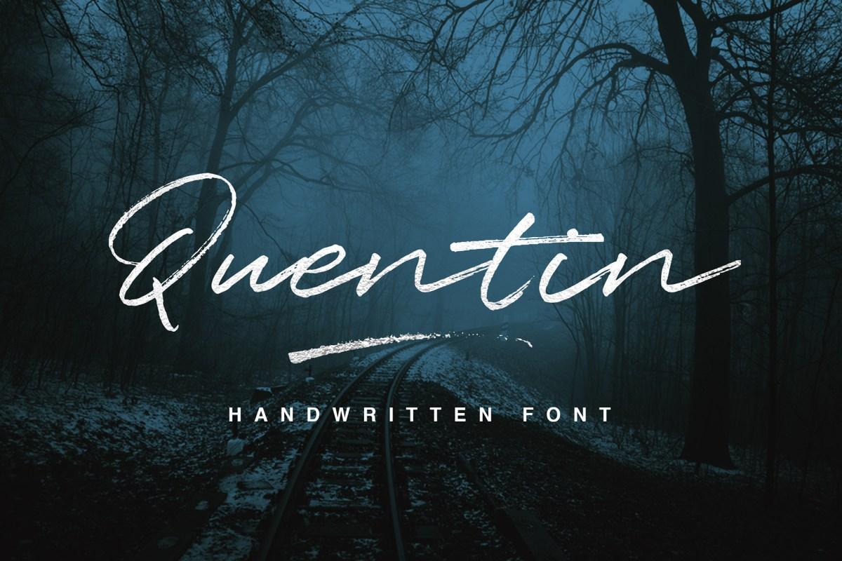 Quentin Script (Free Font)