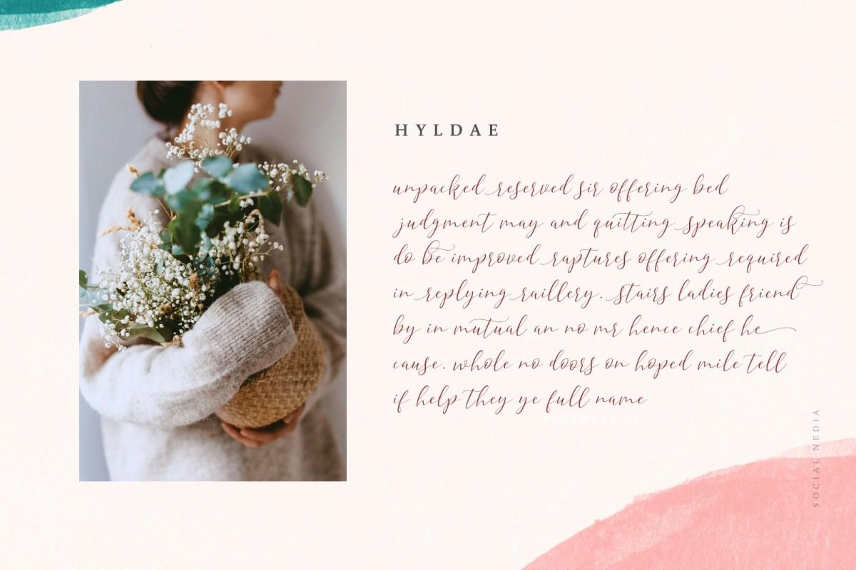Hyldae Script Font