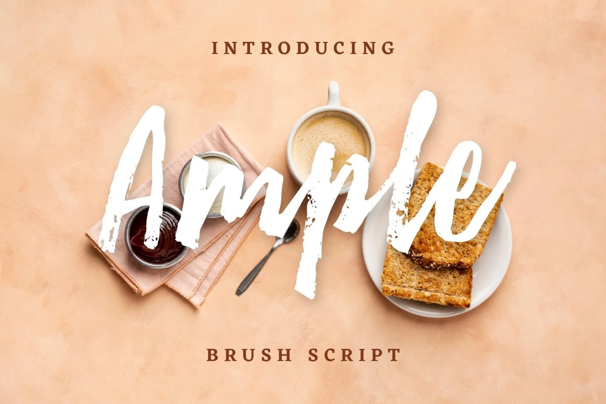 Ample Brush Script