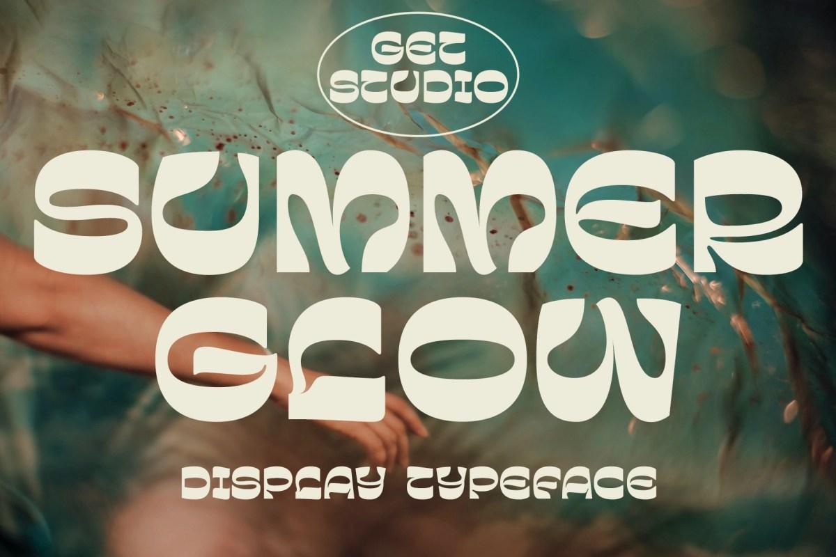 Summer Glow – Display Typeface