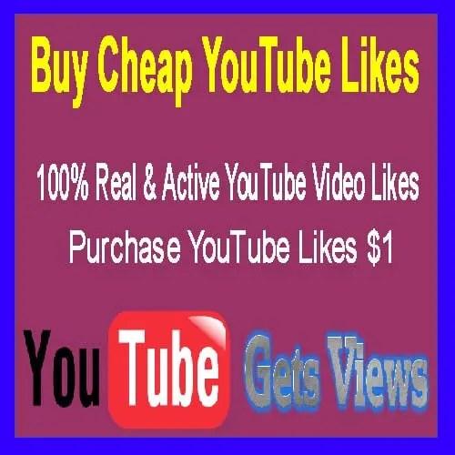 Purchase YouTube Likes $1