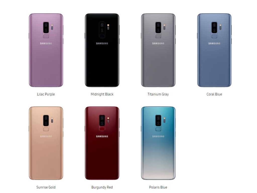 SAMSUNG GALAXY S9 SPECIFICATIONS AND BEST PRICE