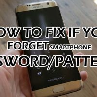 How to fix if you forget smartphone password/patterns!