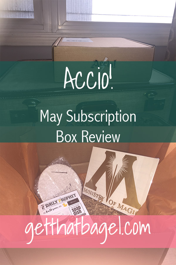 accio - Accio! Box: May Subscription Box Review