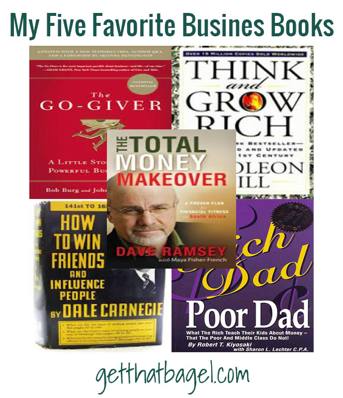 My Five Favorite Business Books