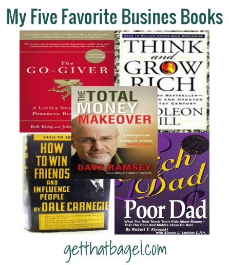 fivebusinessbooks - My Five Favorite Business Books