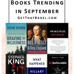 Books Trending on Amazon in September