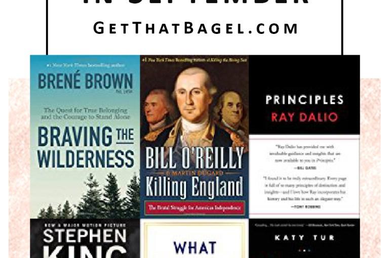 Books Trending on Amazon in September