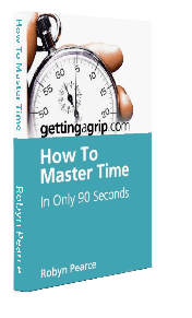 How To Master TIme In Only 90 Seconds E-book