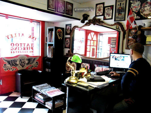 Rome Tattoo Studio Interior