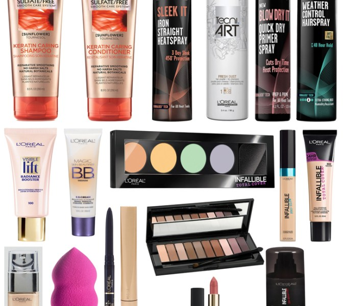 Beauty // Beauty Favorites for Summer featuring L'Oreal