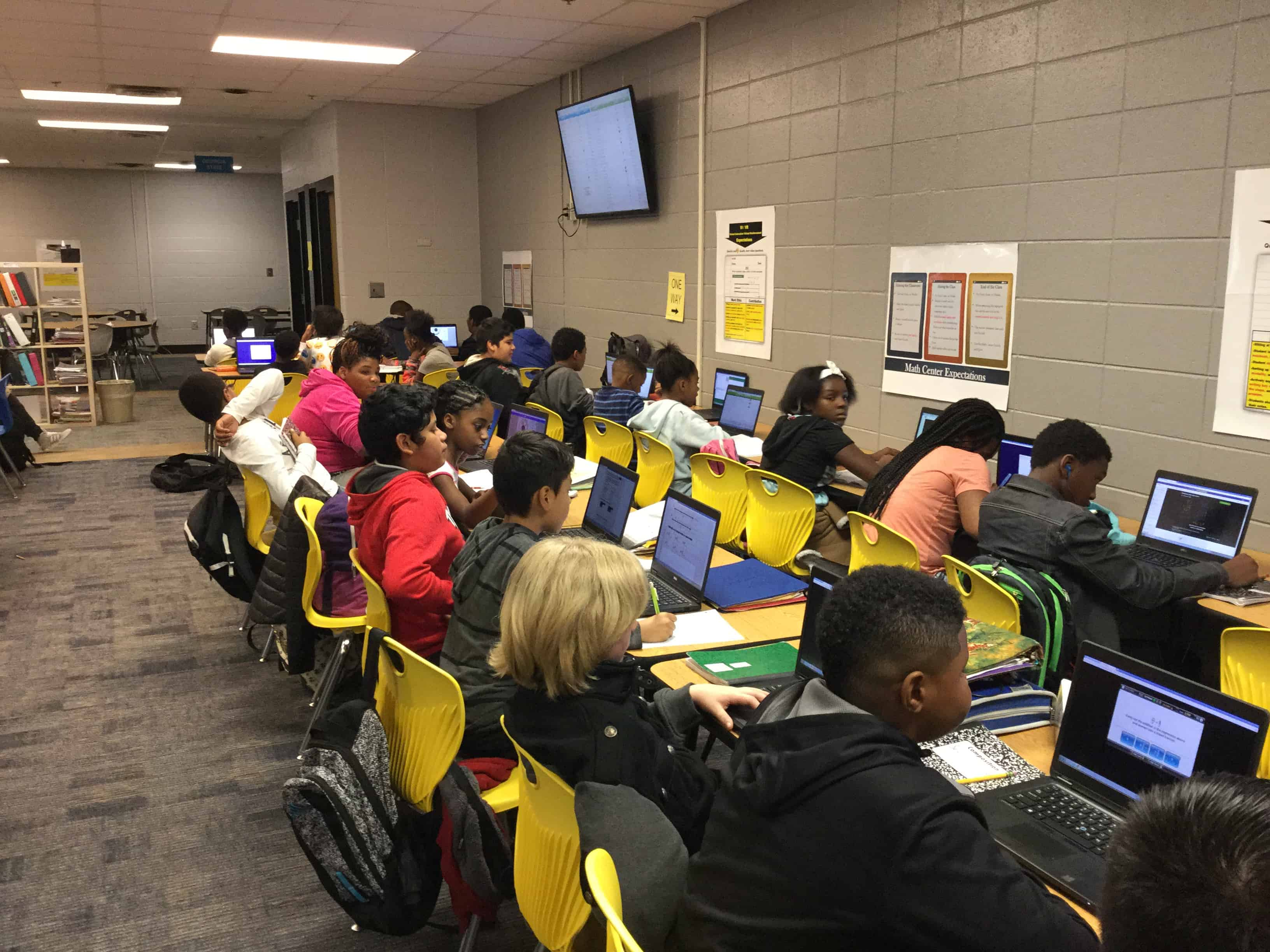 Personalized Math For Fulton S Bear Creek Middle School