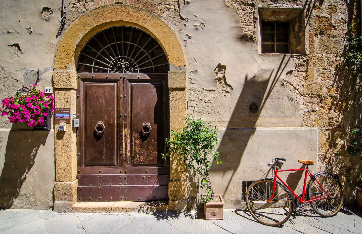 Things To Do In Pienza Italy Getting Stamped