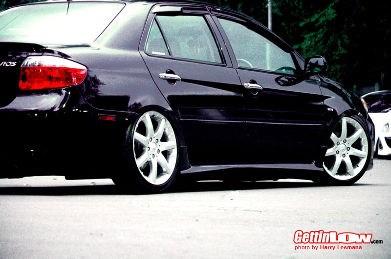 toyota-vios 2004 black matic by marreno