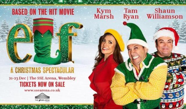 elf the musical spectacular