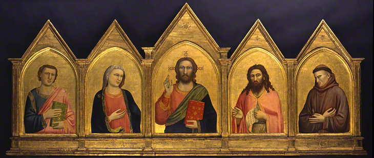 Peruzzi Altarpiece / Giotto