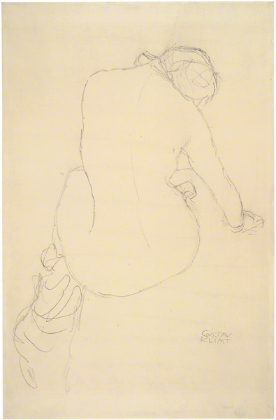 Study for The Virgin / Klimt
