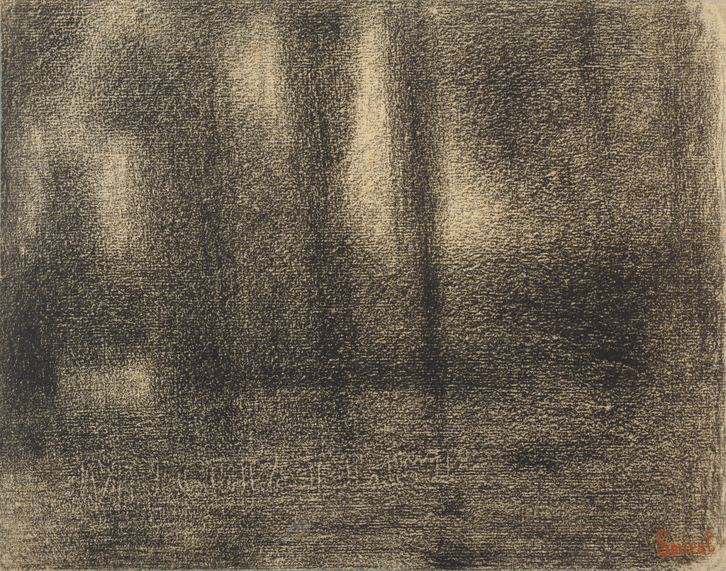 Georges Drawings Sketches Seurat And