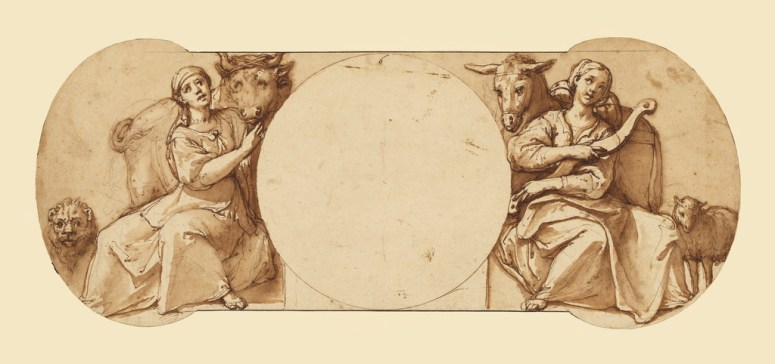 Allegories of Fortitude and Patience (Getty Museum)