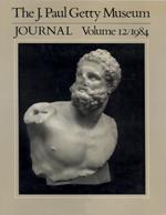 The J. Paul Getty Museum Journal: Volume 12/1984