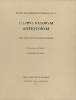 Corpus Vasorum Antiquorum: Fascicule 6