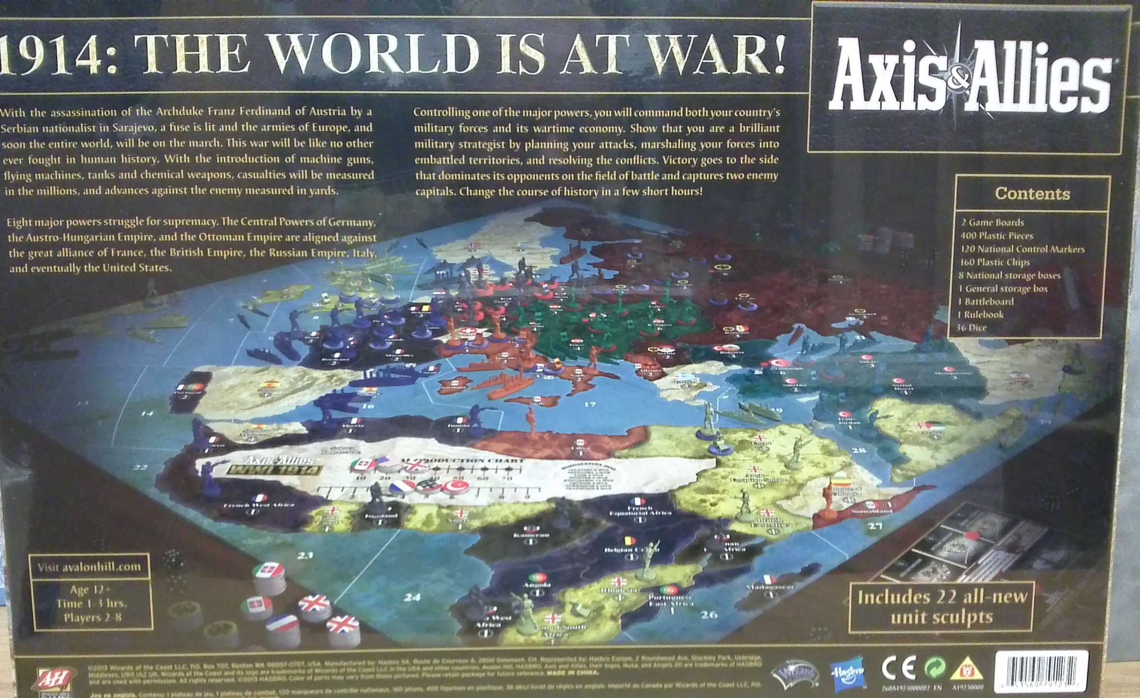 Axis And Allies Wwi