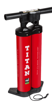 Red Paddle Co TITAN iSUP Pumpe in der Box