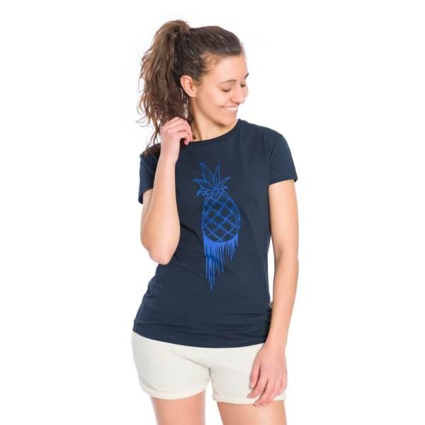 bleed-clothing-1645f-pineapple-t-shirt-damen-dunkelblau-studio-01