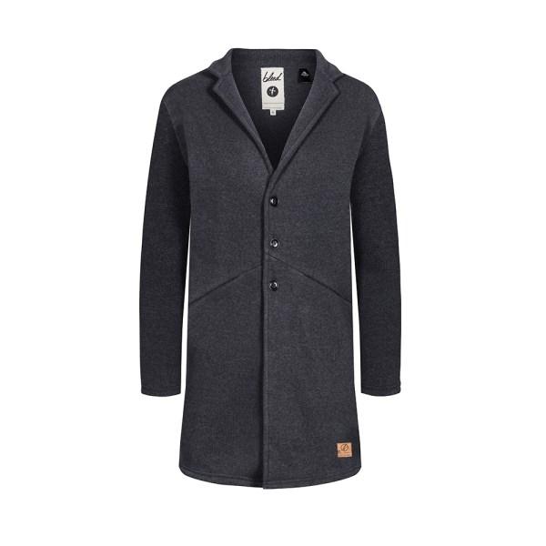 bleed-clothing-1773f-polartec-coat-ladies-dark-grey