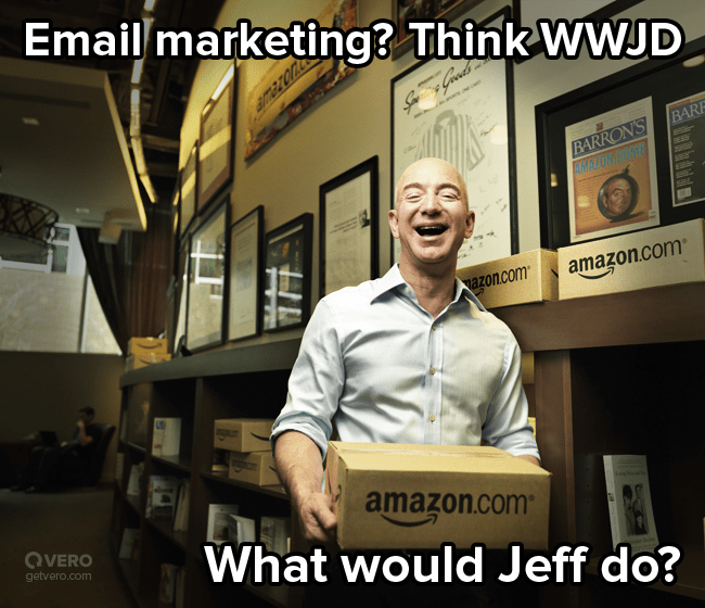 Amazon's Email marketing - What would Jeff do?
