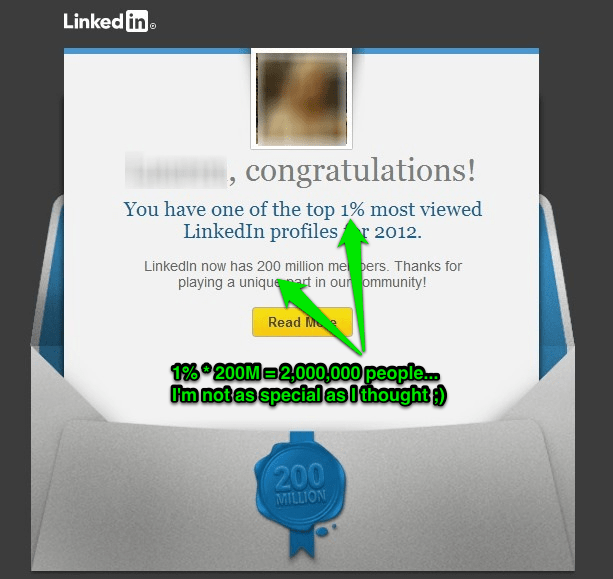 LinkedIn Email Marketing Top 1 Percent