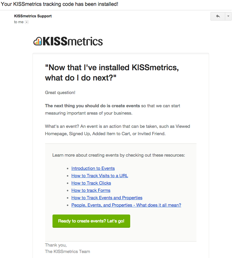 kissmetrics email best practices