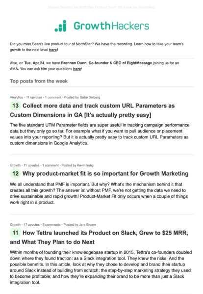 40 tips example growthhackers