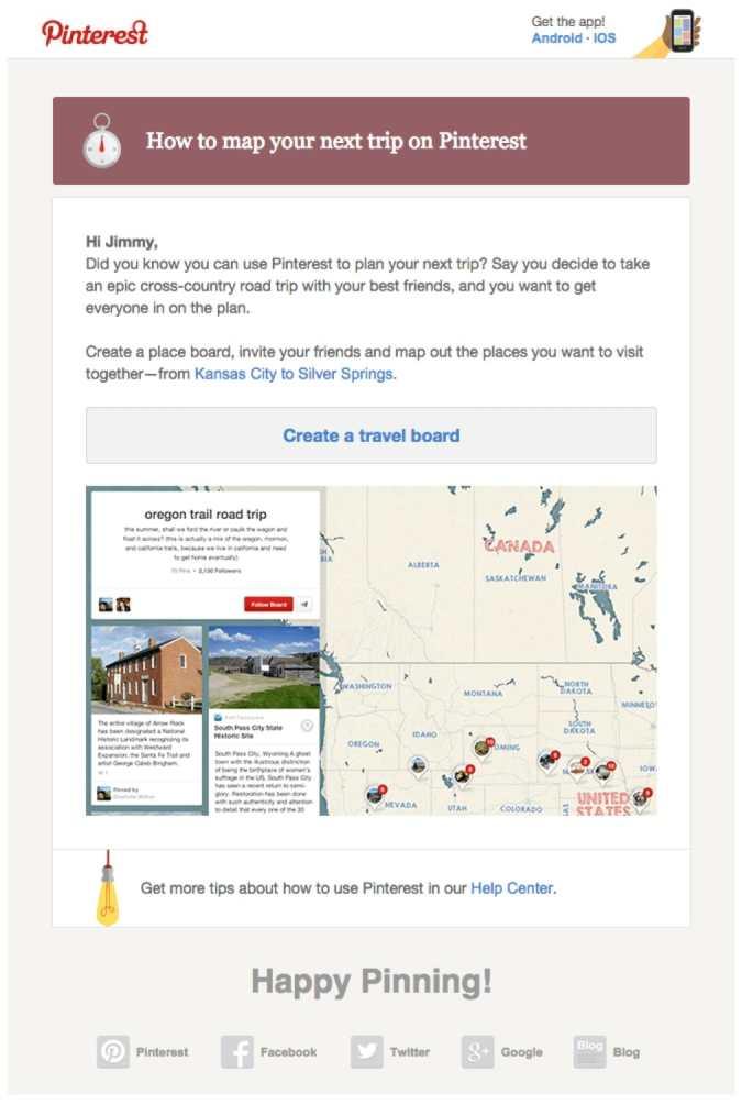 promotional emails 33 examples ideas best practices. Black Bedroom Furniture Sets. Home Design Ideas